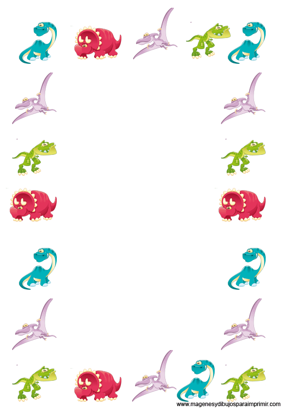 Dinosaurios en folios para imprimir | verolevhu | Pinterest ...