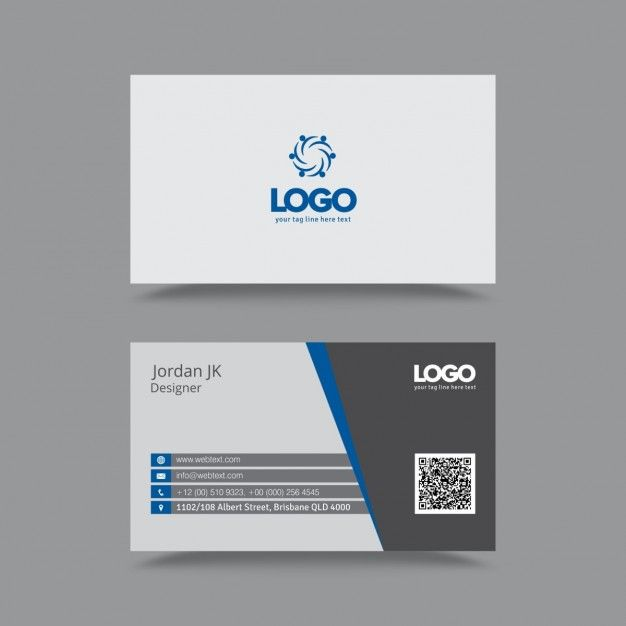Professional clean business card free vector graphic design professional clean business card free vector reheart Choice Image