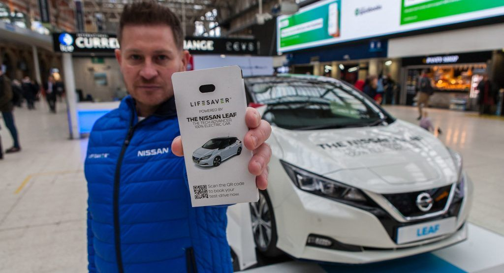 Nissan Joins With UK Startup To Keep Commuters Phones Charged