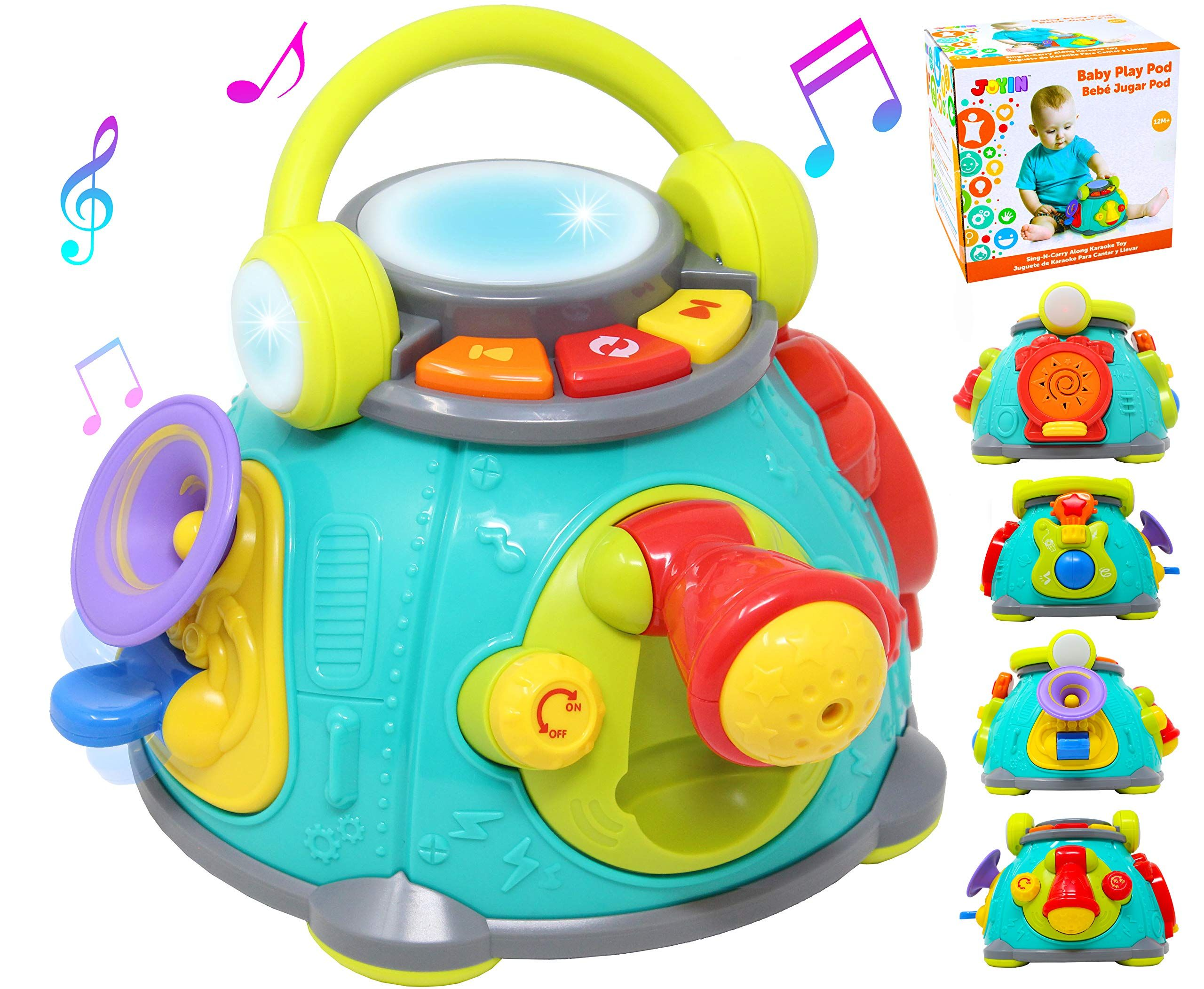 Developmental Activity Cube Toy Musical Baby Toddler Kid Interactive Leaning