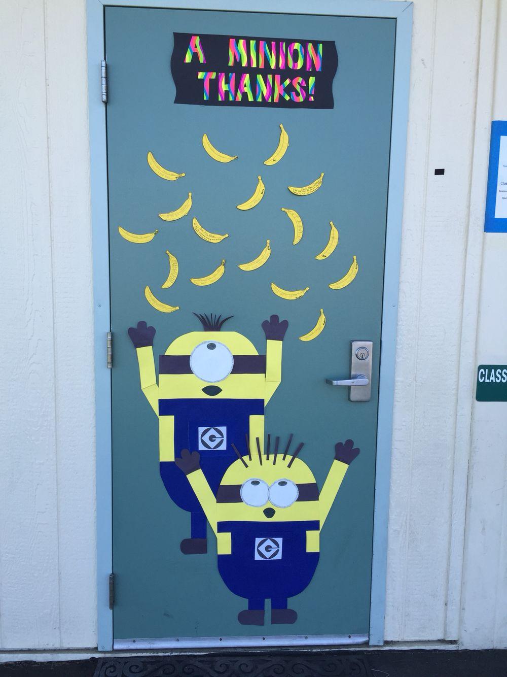 Teacher appreciation board #minions #despicableme