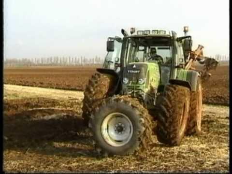 Turner Steering device on Fendt German Tractor Farm