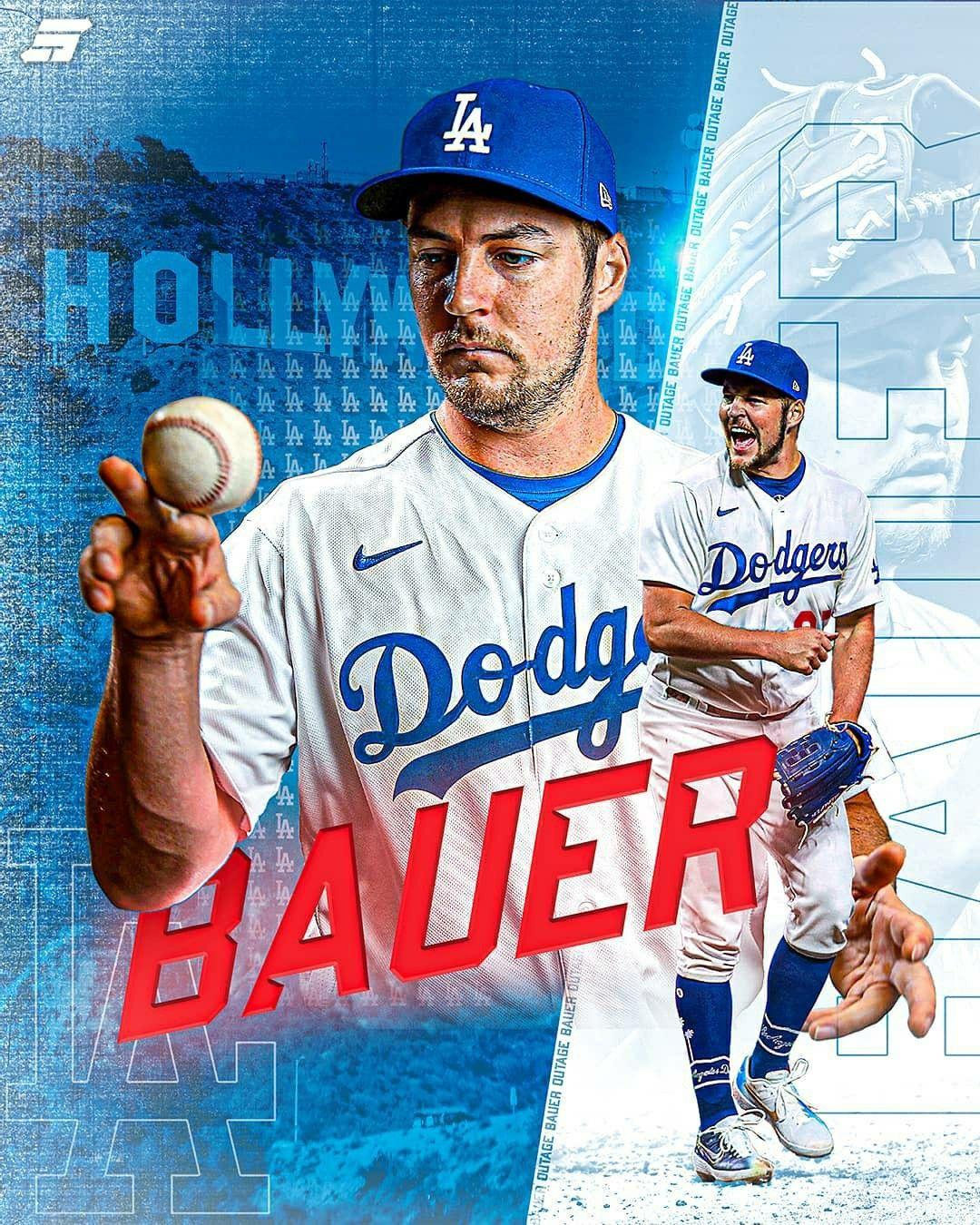 Trevor Bauer In 2021 Baseball Wallpaper Mlb Teams Dodgers Baseball