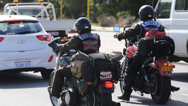 1000 Rebels bikies ride into Perth today on national cross