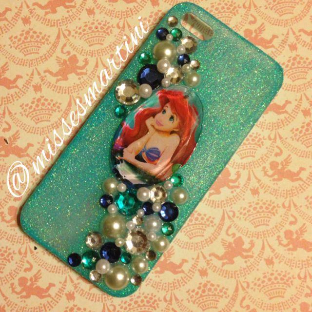 Custom Ariel iphone case; http://Facebook.com/missesmartiniprettythings