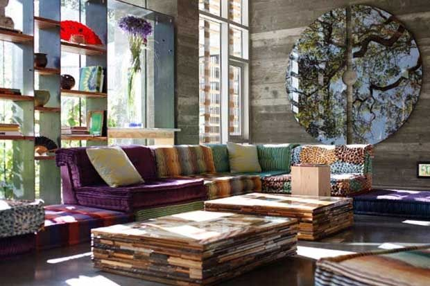 Hipster and chic. The best of rustic and posh. California Home+ ...