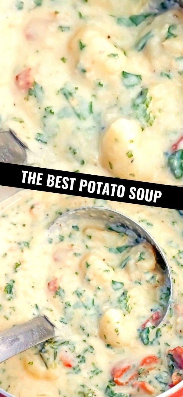 THE BEST POTATO SOUP The Best Potato Soup…a thick