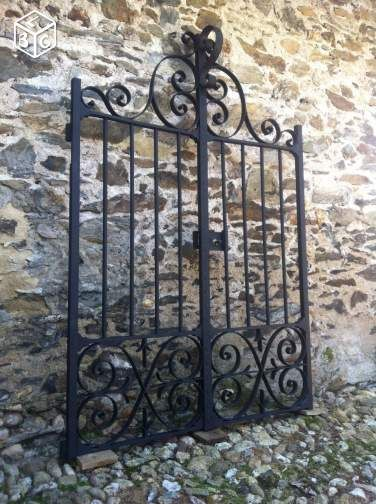 Portail de propriété XVIIIème Bricolage Tarn - leboncoinfr Maison - portail de maison en fer