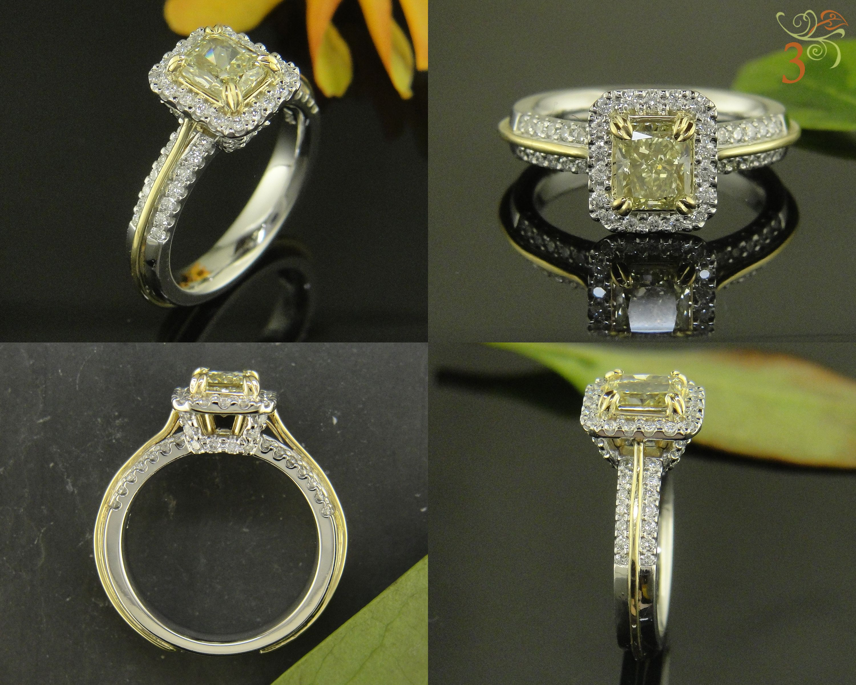 golden cut emerald shape month blog the education glamour hour of rings