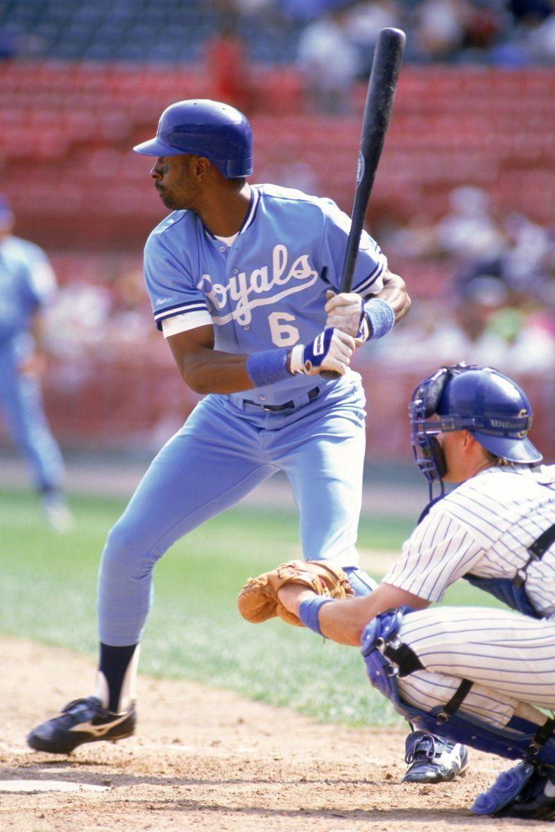 Willie Wilson Kansas City Royals royalsbaseball Kc