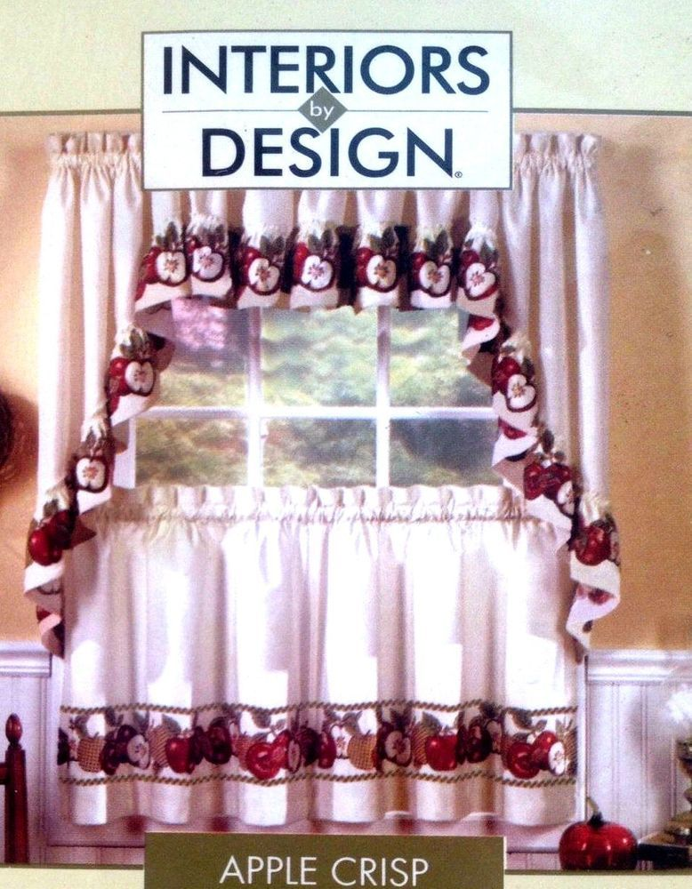 Apple Curtains For Kitchen New Design Ideas