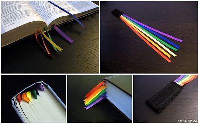kai ta hetera: multi-ribbon Bible bookmark
