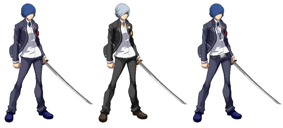 Persona 4 Arena Ultimax Makoto Yuki Minato Arisato By Darkred88 On DeviantArt
