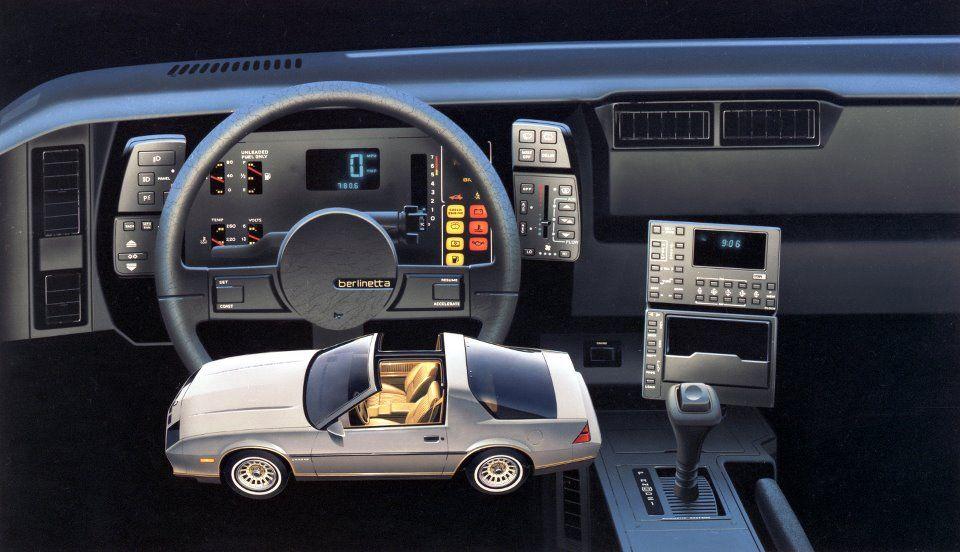 Berlinetta Edition Third Gen Camaro Model Years 1982 Through 1986