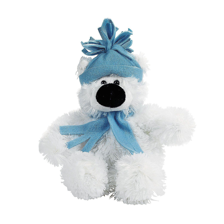 Plush Small Holiday Polar Bear