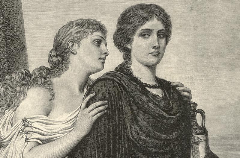 "a comparison of antigone and creon In the greek tragedy ""antigone"", by sophocles antigone learns that king creon has refused to give a proper burial for the slain polyneices, brother of ismene and antigone infuriated by this injustice, antigone shares the tragic news with ismene."
