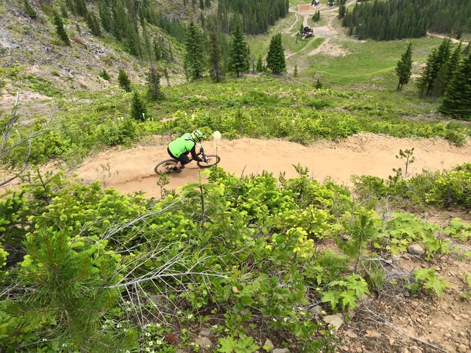 Mountain bike trails at mt hood skibowl are awesome in the