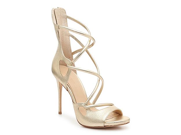 Women Dalle Sandal -Gold Metallic