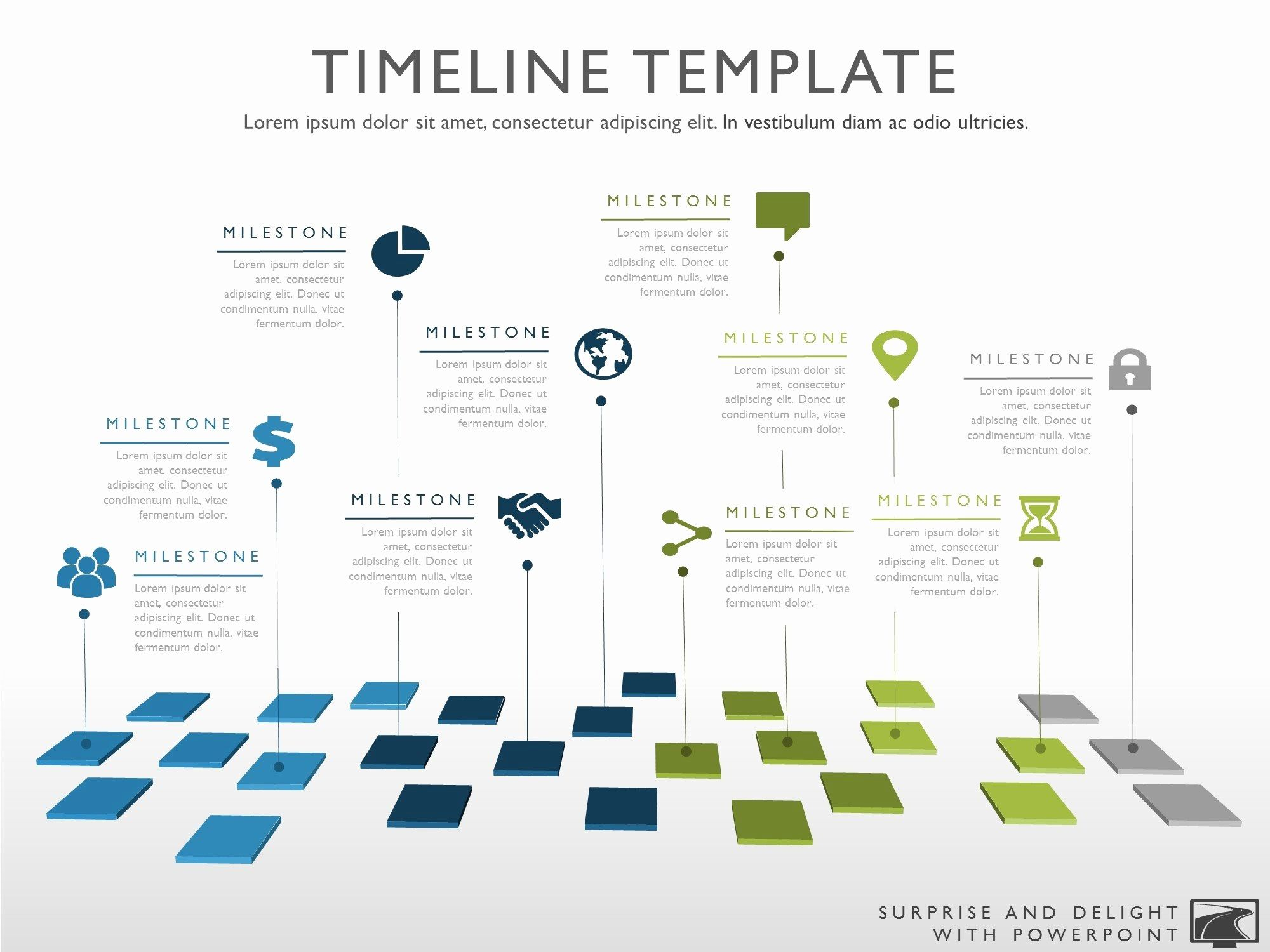 graphic design timeline template lovely ten phase creative