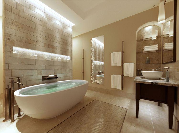 Master Bathroom Decor Spa Inspiration Interior Design