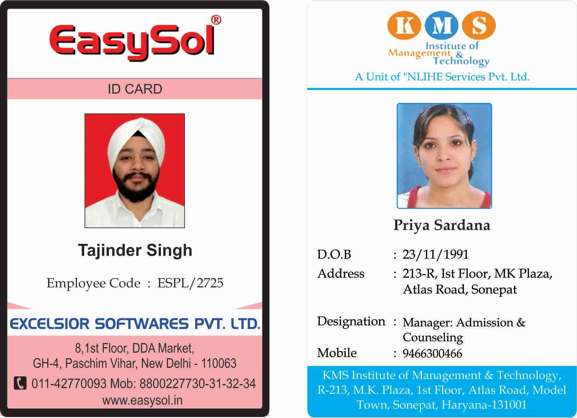 12 13 Microsoft Word Id Badge Template Lascazuelasphilly Regarding Id Card Template For Microsof Id Card Template Employees Card Free Business Card Templates