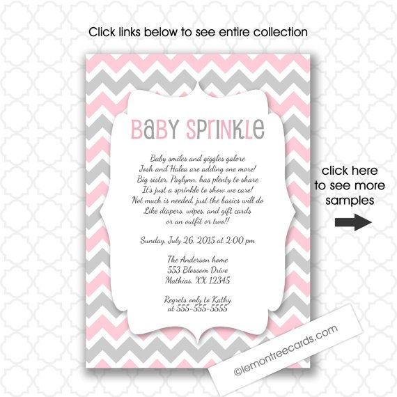 Hey, I found this really awesome Etsy listing at https://www.etsy.com/listing/244428022/pink-baby-sprinkle-invitations-girl-baby