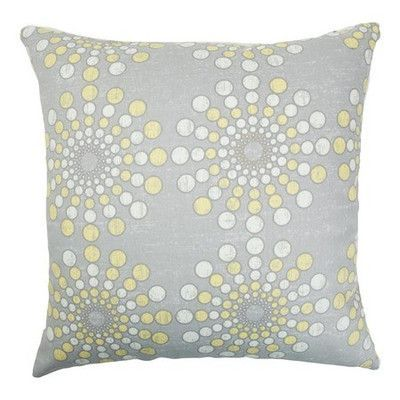 """The Pillow Collection Laidley Dot Cotton Throw Pillow Size: 20"""" x 20"""""""