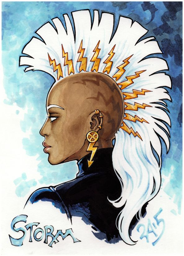 Mayastormx Storm Marvel Storm Art Comic Art