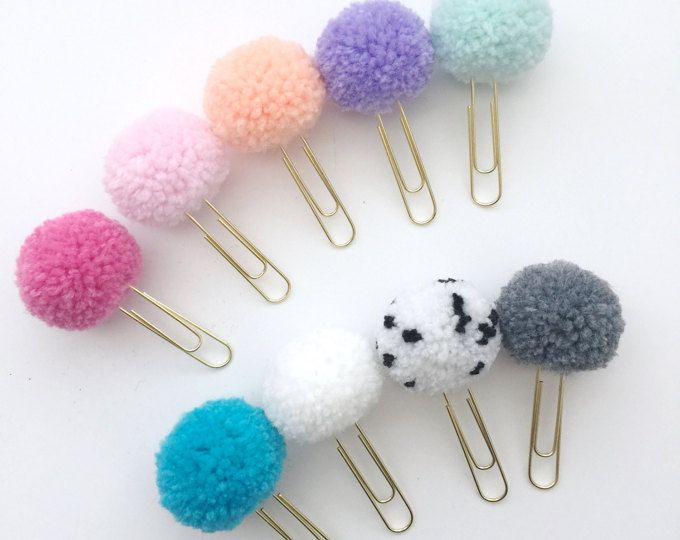 Photo of pom pom and tassels clusters