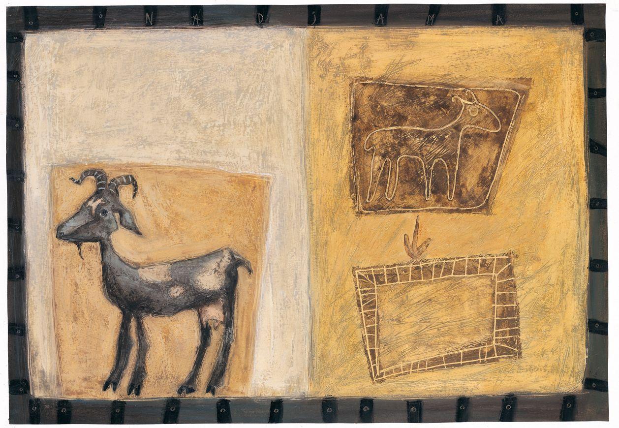 Mª Jesús Santos refleja los colores del Sahara en El color de la arena, un álbum ilustrado editado por Edelvives.