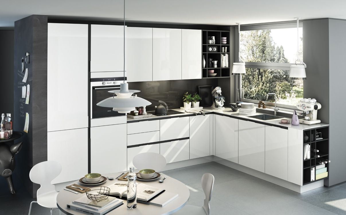 SieMatic S3 - Küche in L-Form | Kitchen | Pinterest | S3, Raam and In | {Einbauküchen l form 42}