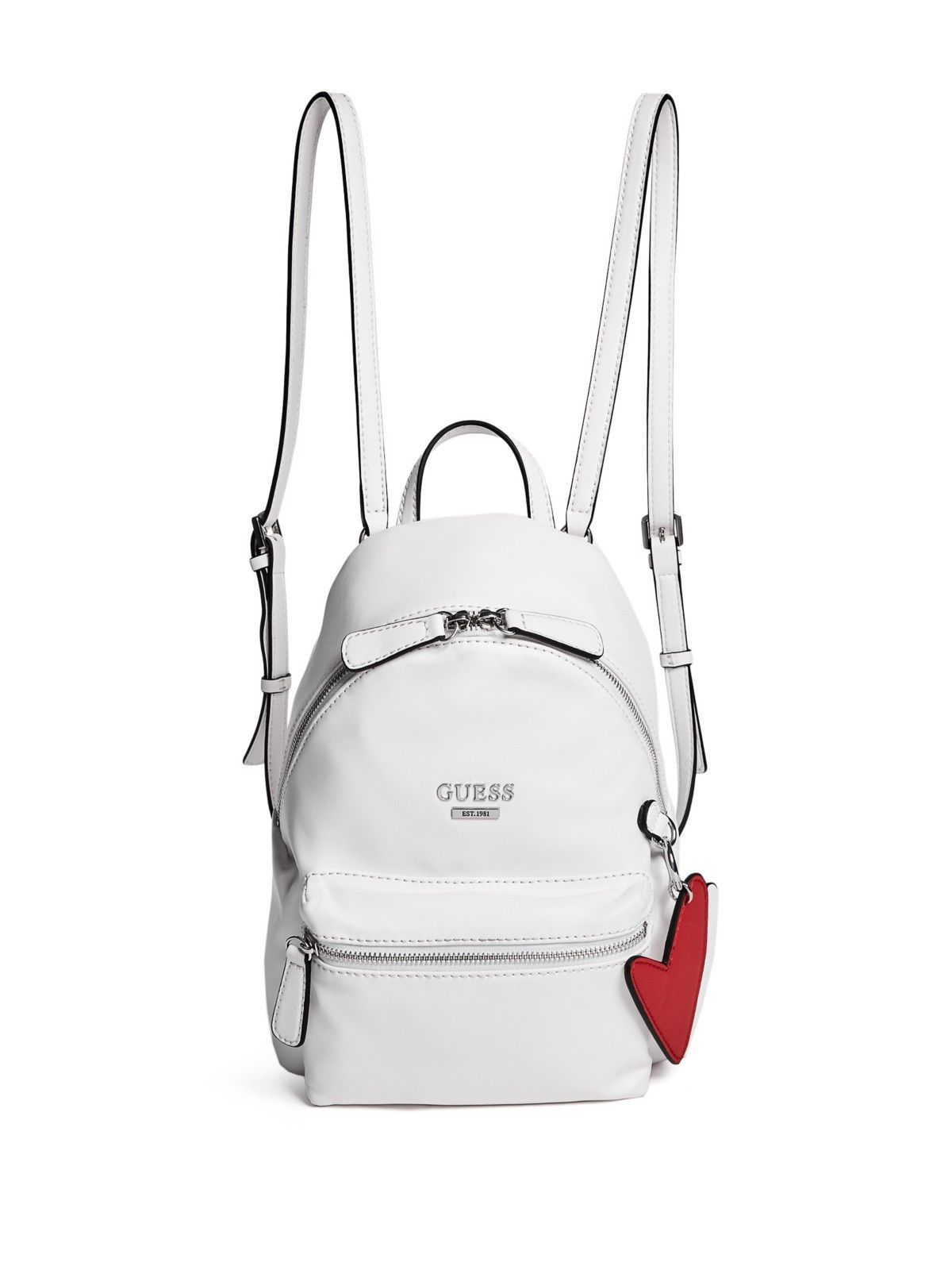 42b03c17d633 GUESS Factory Womens Zayn Faux-Leather Backpack