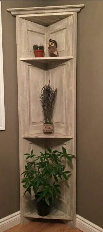 Pin By Jess Marie On Decor | Pinterest | Doors, Corner Shelf And Shelving