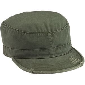 014955c561b Olive Drab Vintage Military Patrol Cap Fatigue Hat  6