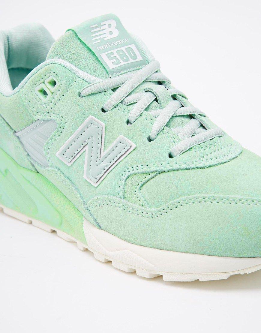 Image 4 - New Balance - 580 - Baskets - Vert menthe | New balance ...