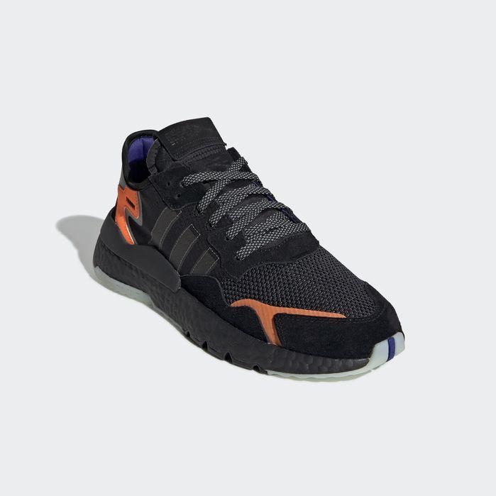 finest selection cfbfc 28486 Nite Jogger Shoes Black 10.5 Mens Joggers Shoes, Sneakers, Black Adidas,  Black Shoes