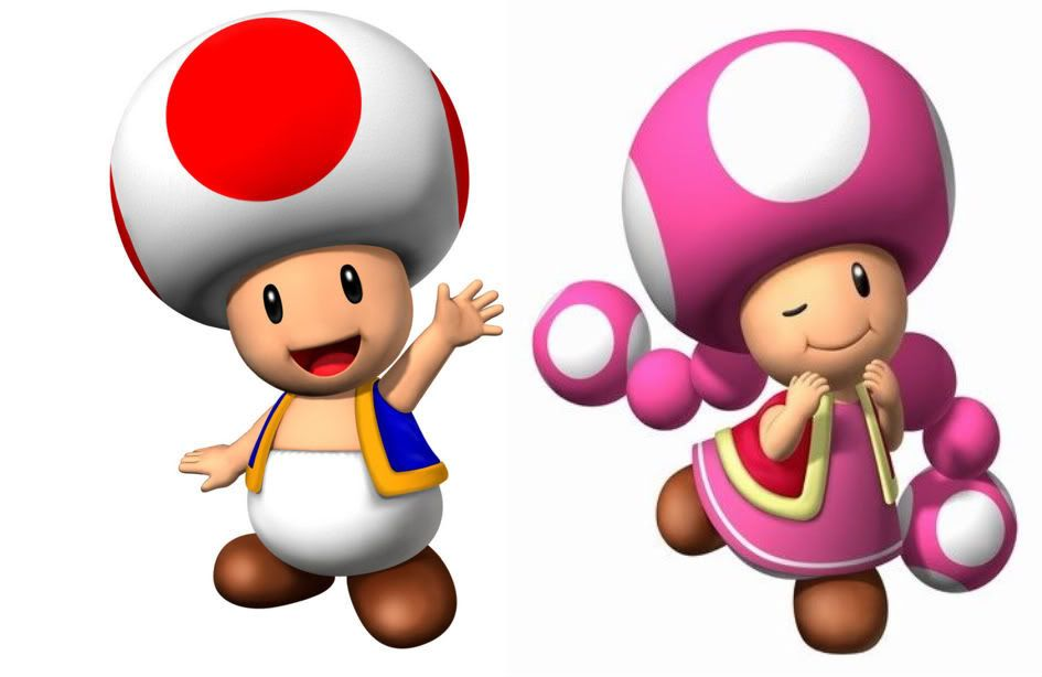 Pictures Of Toad From Mario Brothers
