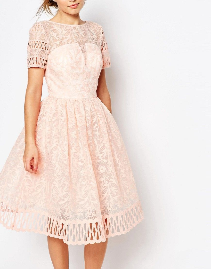 Lace dress midi quebec