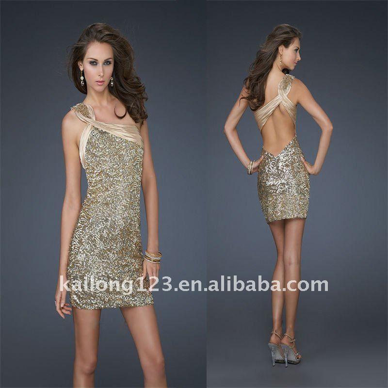 Short Open Back Dresses Photo Album - Reikian