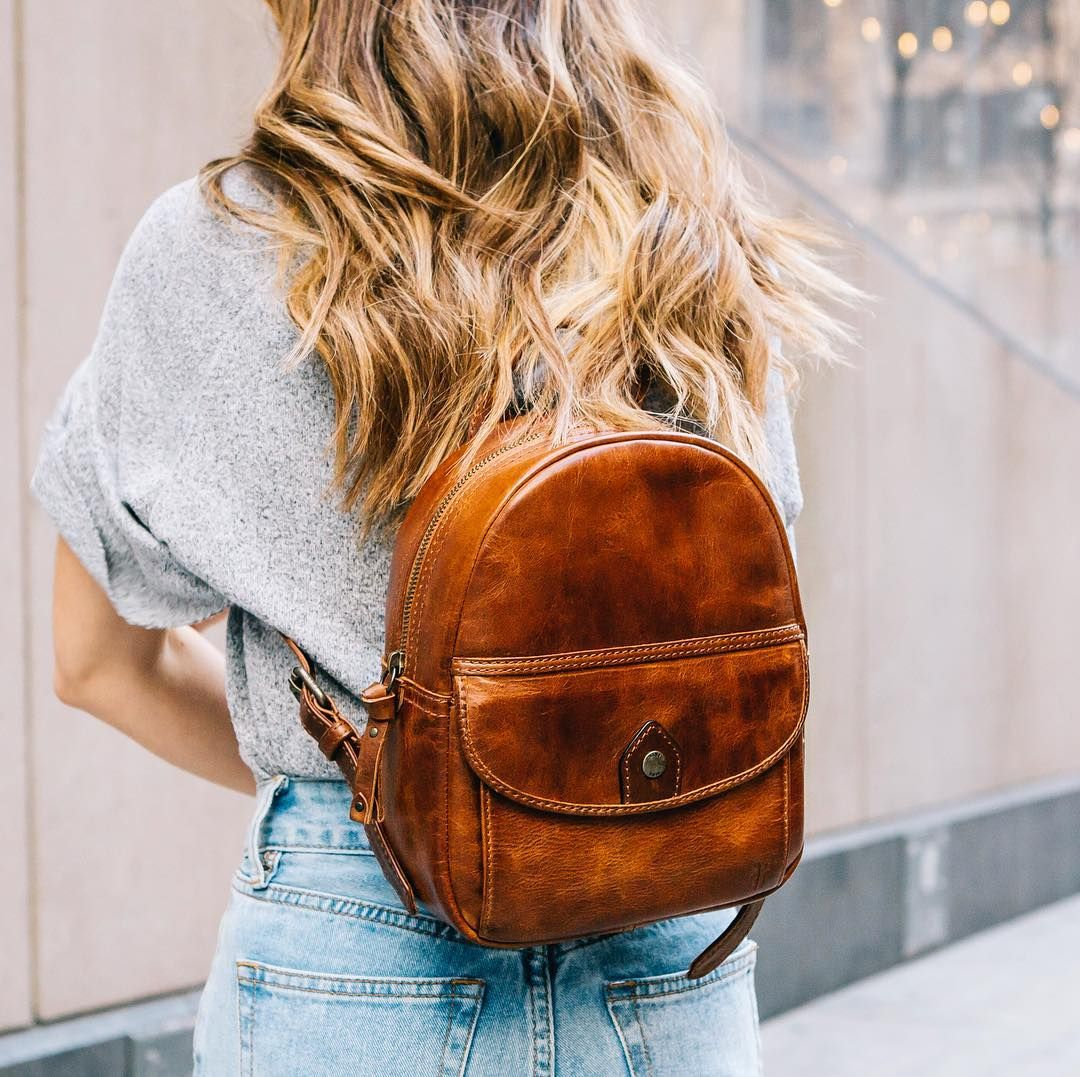 2a390601b50 Perfect for all your Spring festivals and adventures  the Melissa Mini  Backpack   The Frye Company