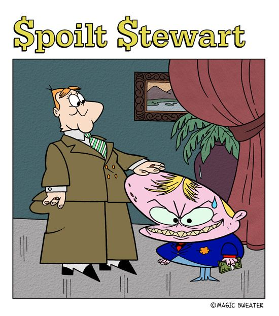 Drawing Bookcover Design: #parody #spoilt #richierich #harveycomics #satire #comic