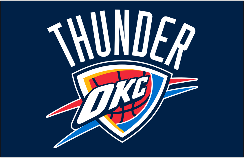 Oklahoma City Thunder Seattle Supersonics Prev Logo Oklahoma City Thunder Png Oklahoma City Thunder Thunder Okc Thunder