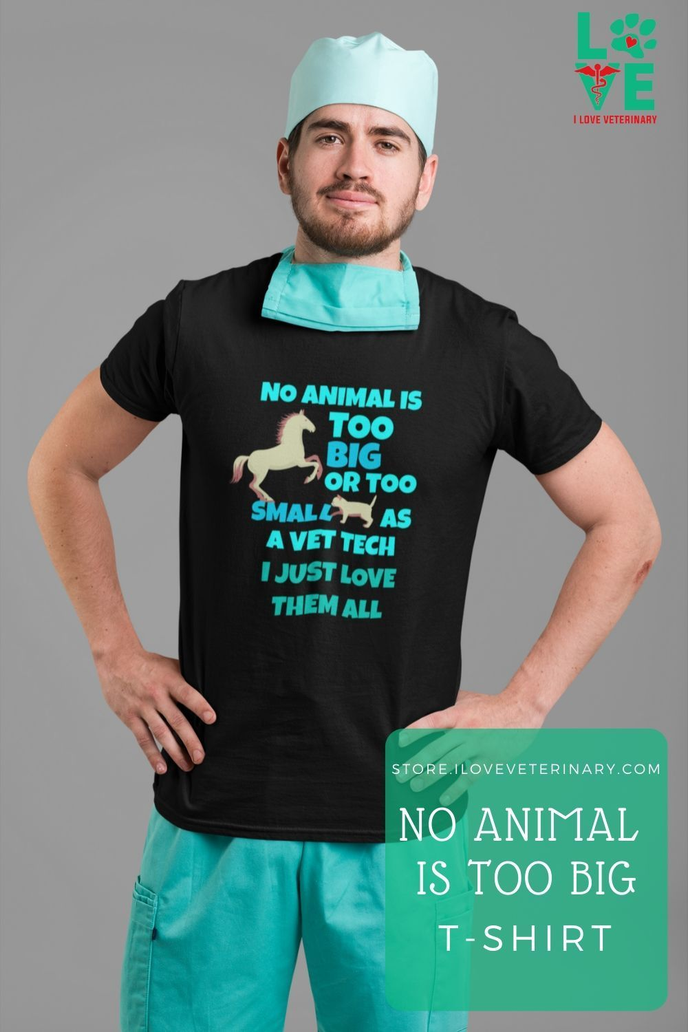 No Animal Is Too Big Or Too Small Tshirt in 2020