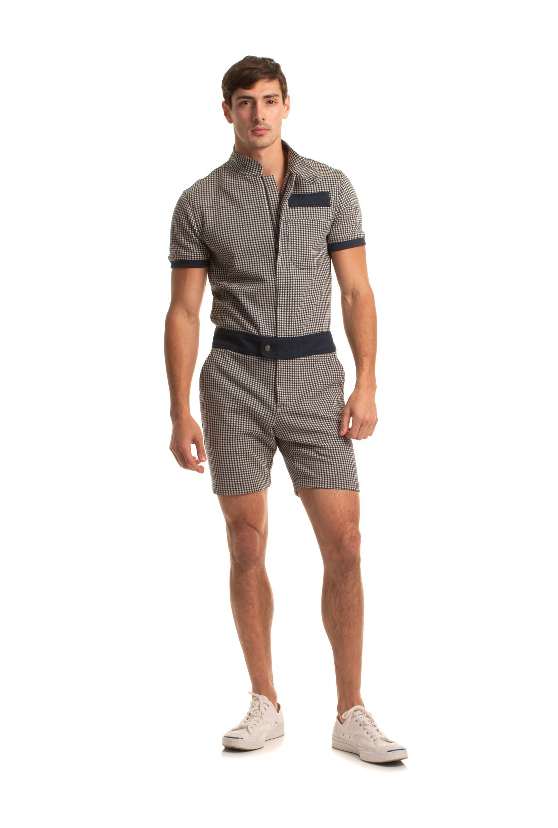 f0af77d14f1 NEWTON SHORT JUMPSUIT. NEWTON SHORT JUMPSUIT Big Men Fashion