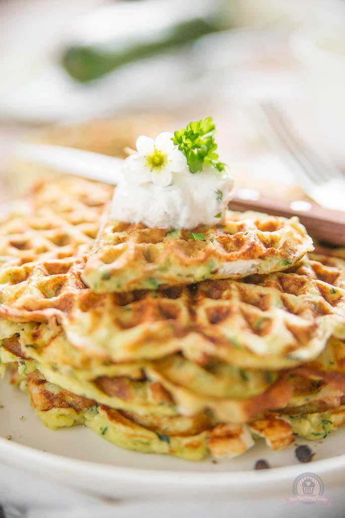 Feta-Zucchiniwaffeln - Das Küchengeflüster