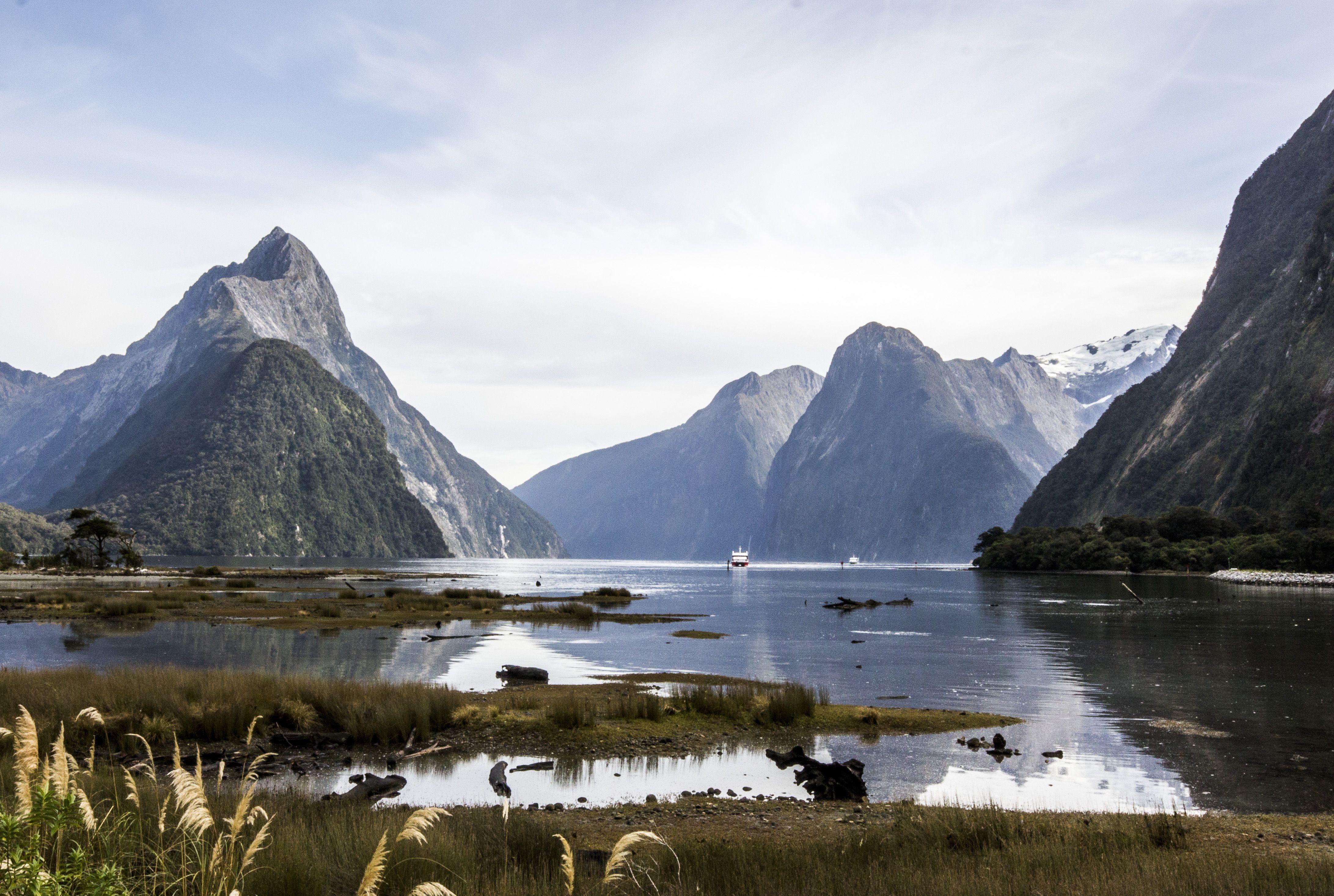 Gereisd door `nieuw-Zeeland Milford sound