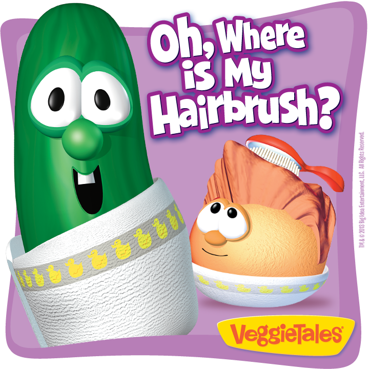 Veggie tales hole in the bottom