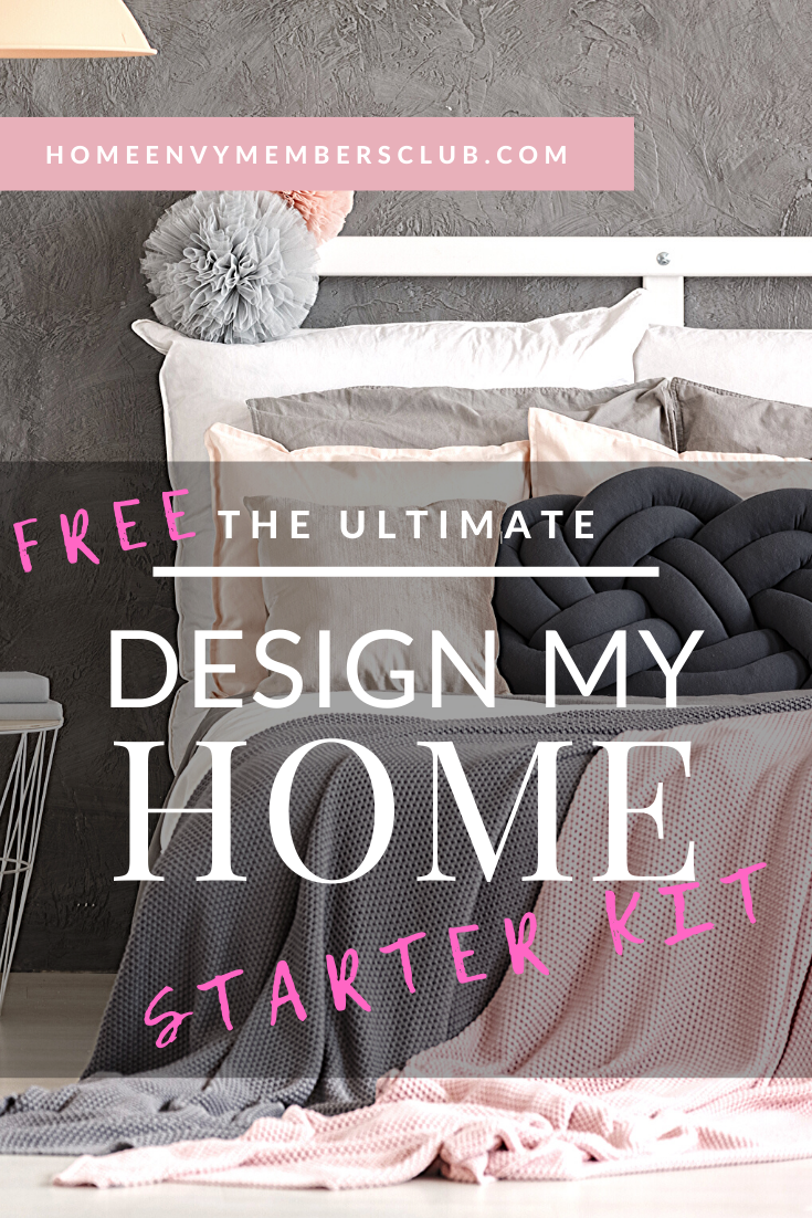 Looking to create your beautiful dream home? Get our FREE design my home starter kit! Three free guides to give you colour palette inspiration, interior design tips, mood board knowhow. Get interior design ideas, layouts and styles for your bedroom, living room, kitchen + bathroom #interiordesignideas #interiordesigntips #interiordesignguide