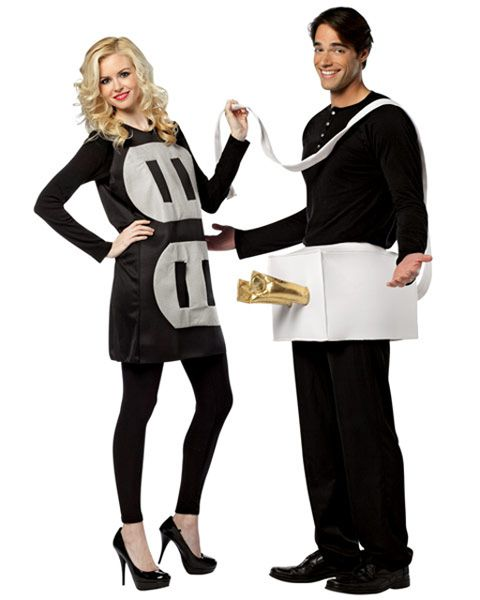 Couples Plug & Socket Costume for Adults - Womens Humorous Halloween Costumes