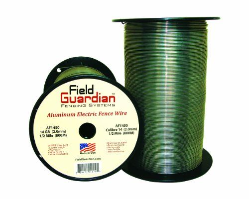 Field Guardian 14 Guage Aluminum Wire 1 2 Mile More Info Could Be Found At The Image Url Electric Fence Fencing For Sale Fencing Supplies